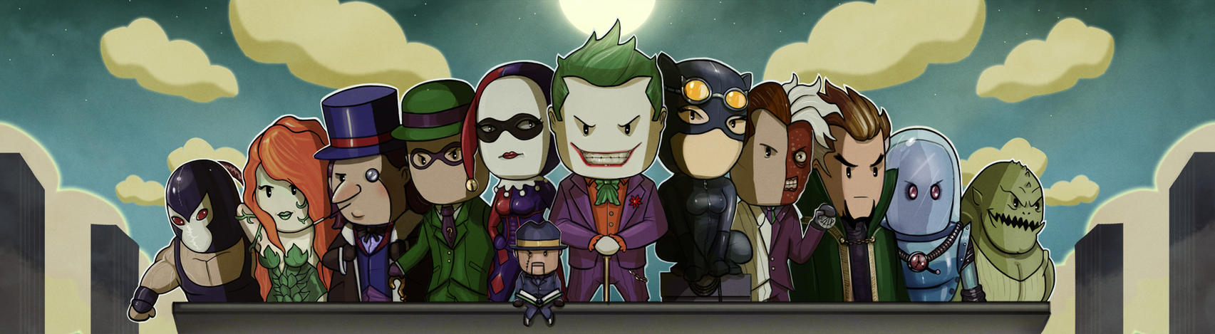 Batman Villains United by MattiasFahlberg
