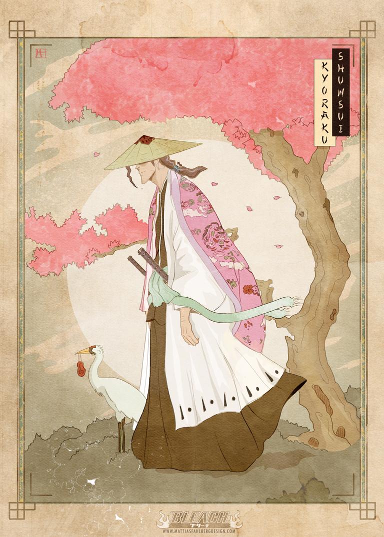Shunsui Kyoraku by MattiasFahlberg