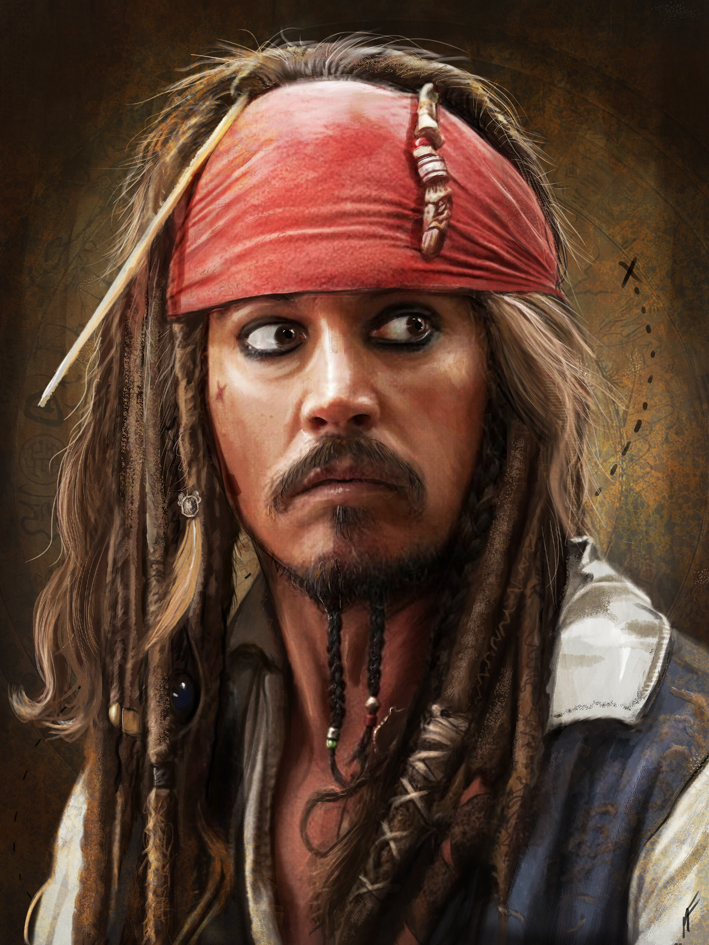 Jack Sparrow by MattiasFahlberg