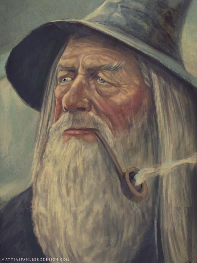 Gandalf by MattiasFahlberg