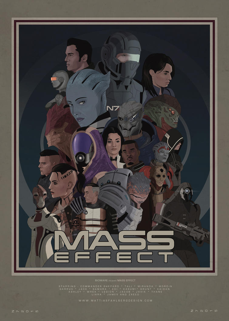 Mass Effect by MattiasFahlberg