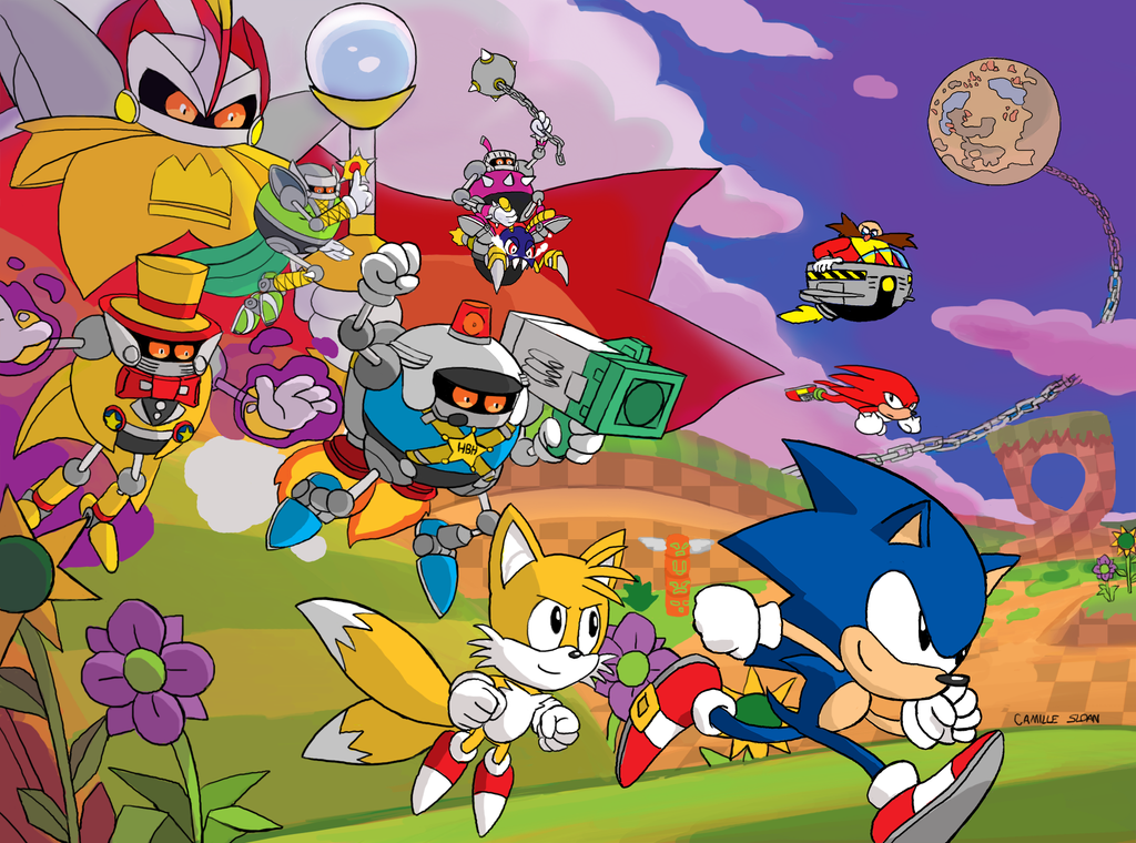 Sonic Mania Collage by Camb0t