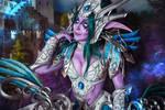 Tyrande Whisperwind cosplay