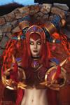 Alexstrasza the Life-Binder cosplay