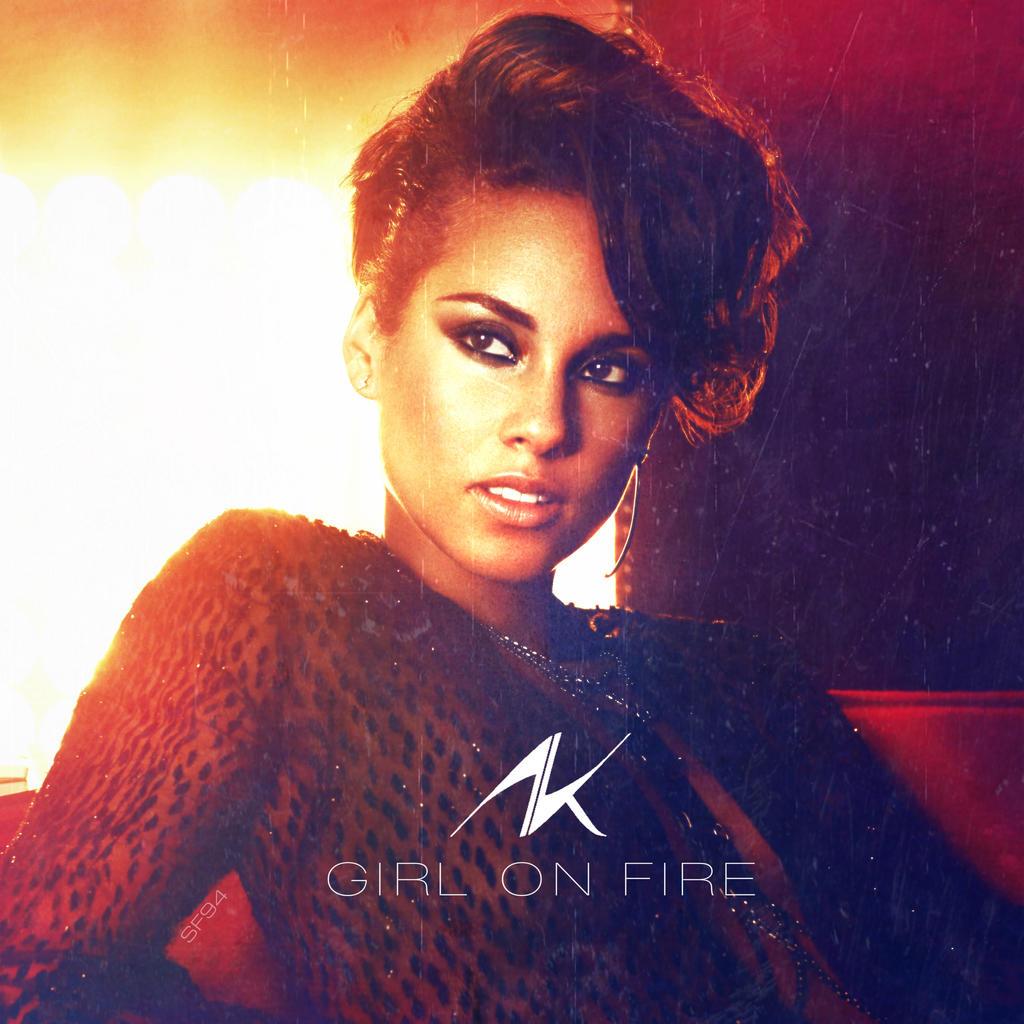 Alicia Keys - Girl On Fire V2 by Shinodafan94 on DeviantArt