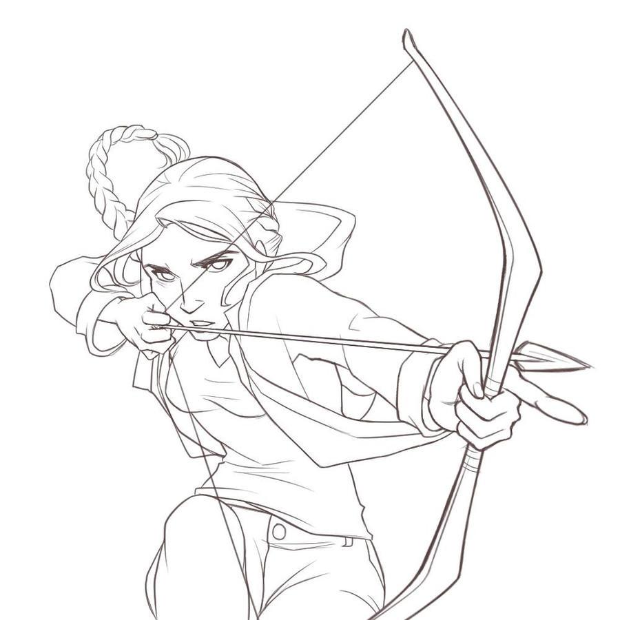 Katniss Everdeen by ItoMaki on DeviantArt