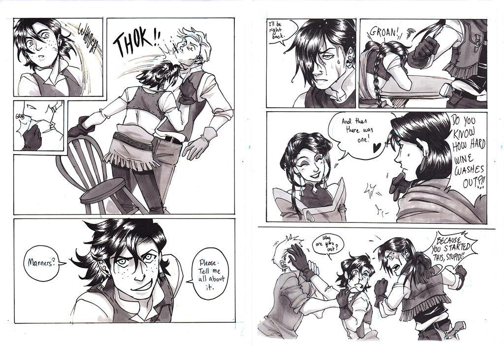 Desperado Saga 24HCD pages by ItoMaki