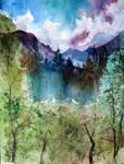 Mere Landscape by Krshtl