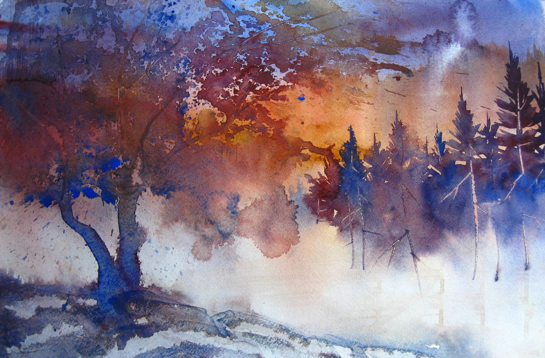 Fiery Glow by Krshtl