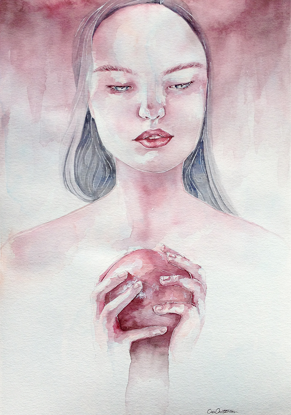 pomegranate by chrica