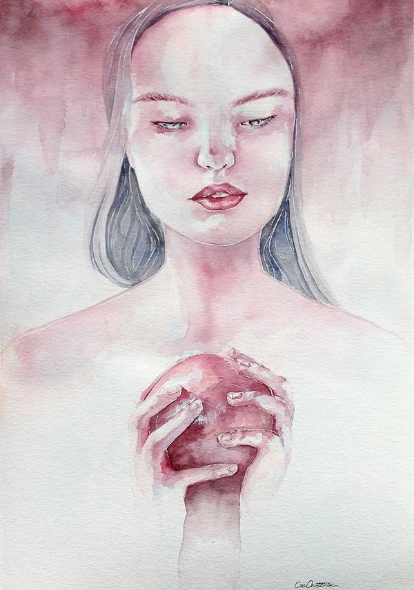 pomegranate by chrica