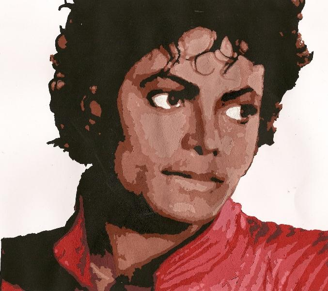 the gallery for gt drawing of michael jackson thriller