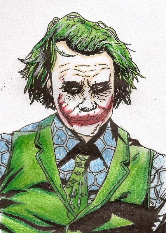 The Joker's Interrogation by predator-fan
