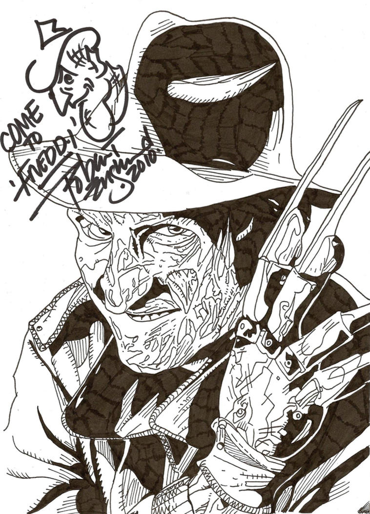 Come To Freddy by predator-fan
