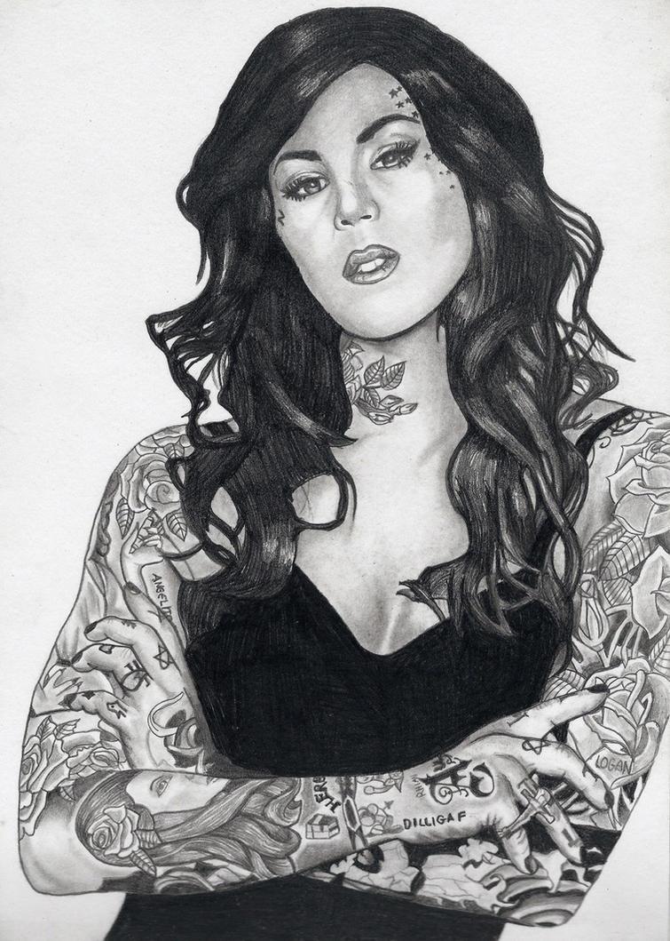 Kat Von D by predator-fan