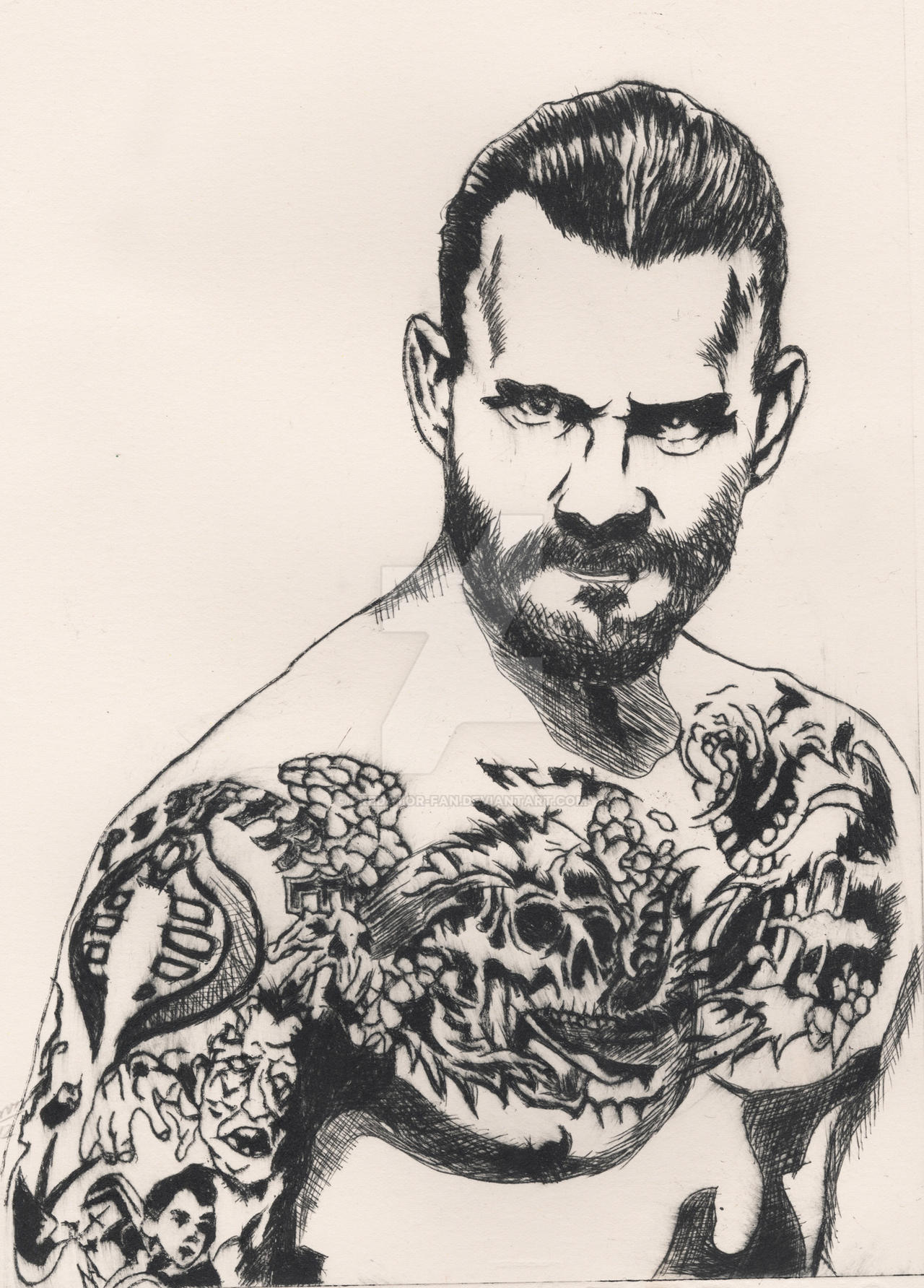 CM Punk by predator-fan