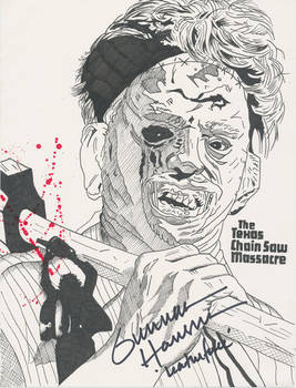 The Texas Chainsaw Massacre Signed