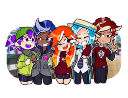 The Reef Sharks -- REDRAW by LittleParade
