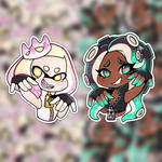 SHOP Stickers -- Off the Hook by LittleParade