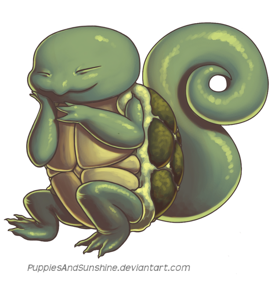 007 Squirtle by PuppiesAndSunshine