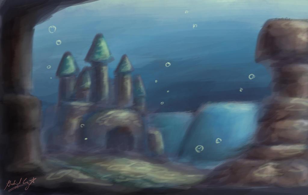 Underwater Castle By CyberPikachu On DeviantART