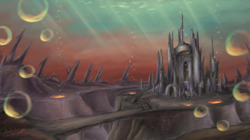 Underwater Castle 2 By CyberPikachu On DeviantArt