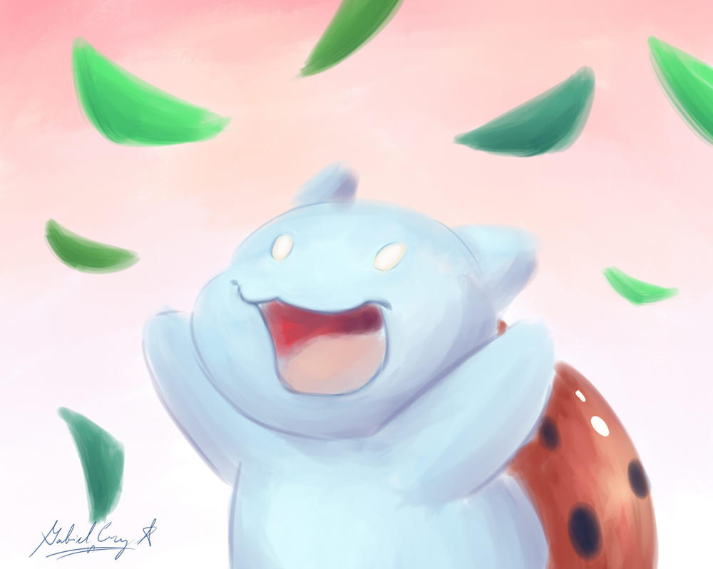 Catbug Sugar Peas by CyberPikachu