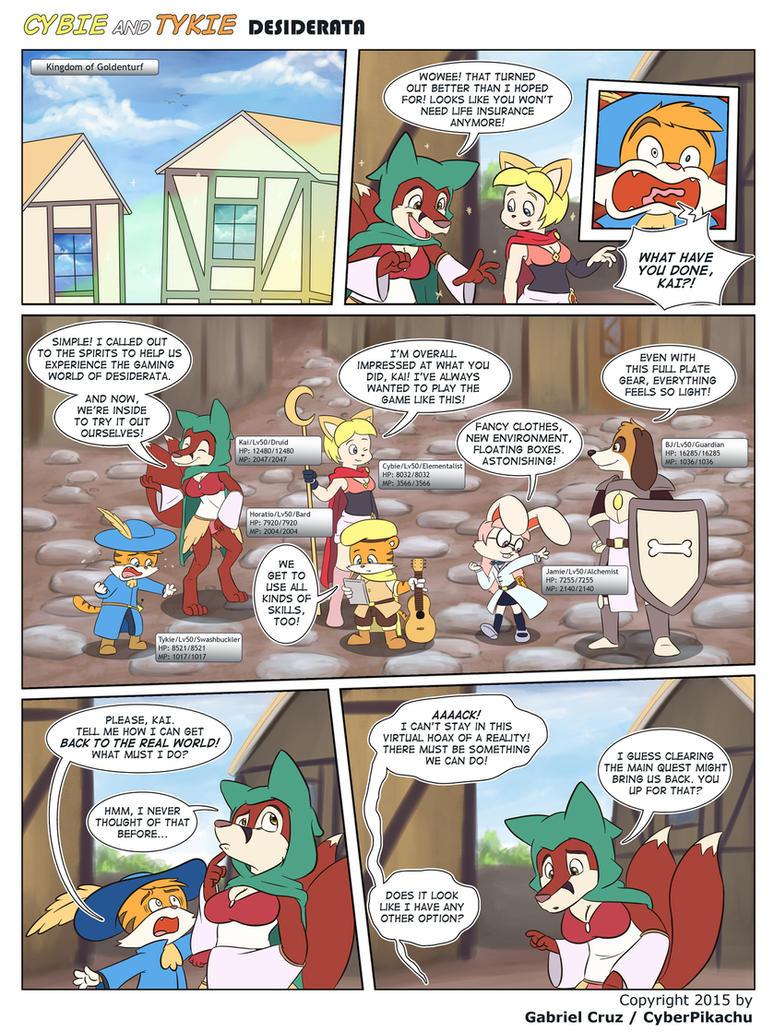 Cybie and Tykie - Desiderata (Page 05) by CyberPikachu