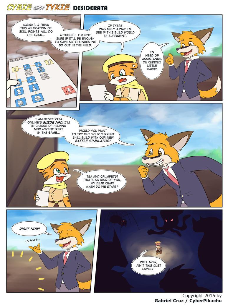 Cybie and Tykie - Desiderata (Page 06) by CyberPikachu