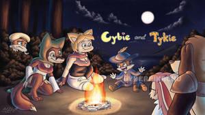 Cybie and Tykie - Desiderata Campfire