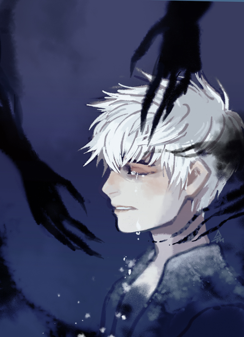 jack frost and pitch black kiss - photo #16