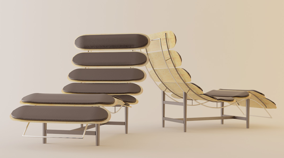 Skateboard chair 02 by toto777 on deviantart for Skateboard chair plans