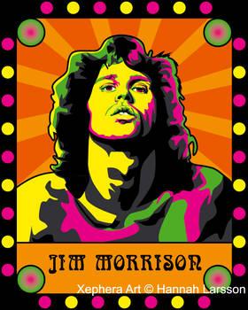 Rock Nouveau - Jim Morrison