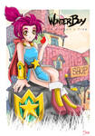 Wonder Boy the Dragons Trap!! by Nephtys-Bastet