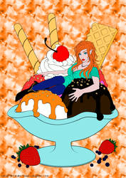 Ice cream colouring contest by Marly-XI