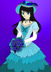 Flower and dress - Coloured by Marly-XI