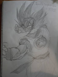 Somewhat Traced Goku