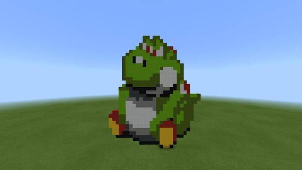 Evil Beeg Yoshi IN Minecraft