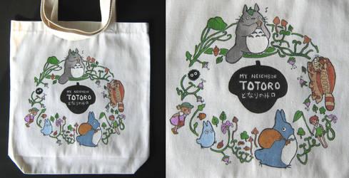 Studio Ghibli - TOTORO Tote Bag