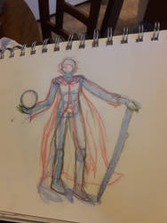 Dr.strange sketch by StarlyMoon
