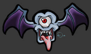 Doddle 03 Vampiminion Color by FedericoAg