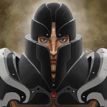 Crusader fan Art by FedericoAg