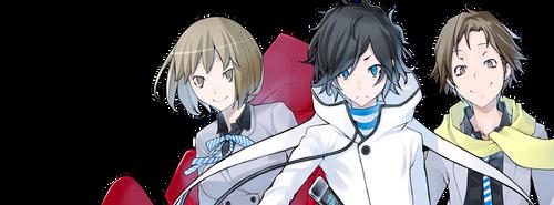 Devil Survivor 2 Hibiki, Io and Daichi