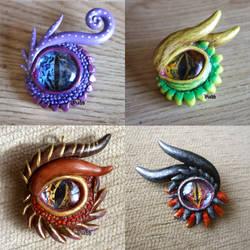 Dragon eyes by xHideFromTheSunx