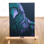 Neon squawk boi by xHideFromTheSunx
