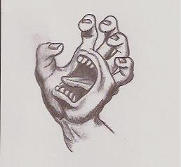Hand Scared by PikaTony