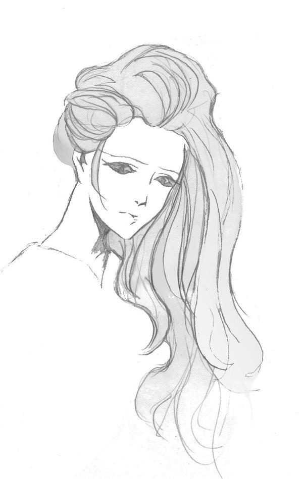 Mysterious Lady by emomonkeyflowersInc