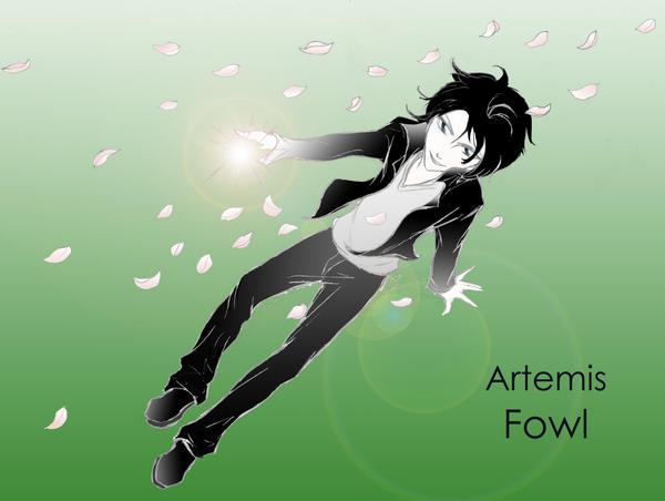 Artemis Fowl by emomonkeyflowersInc