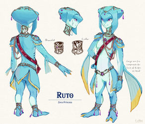 Breath of the Wild Ruto