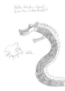Lithp Dragon and... Thing...